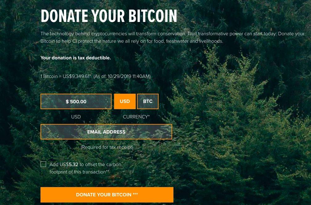 Bảo tồn bitcoin quốc tế khỏi việc đào bitcoin