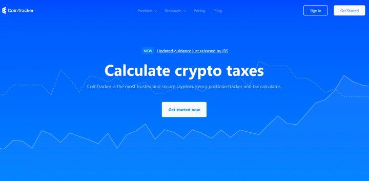 CoinTracker top 8 nền tảng quản lý thuế crypto