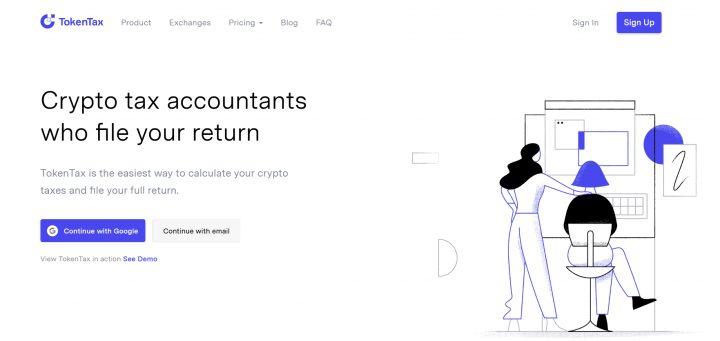 tokentax.co top 8 nền tảng quản lý thuế tiền điện tử