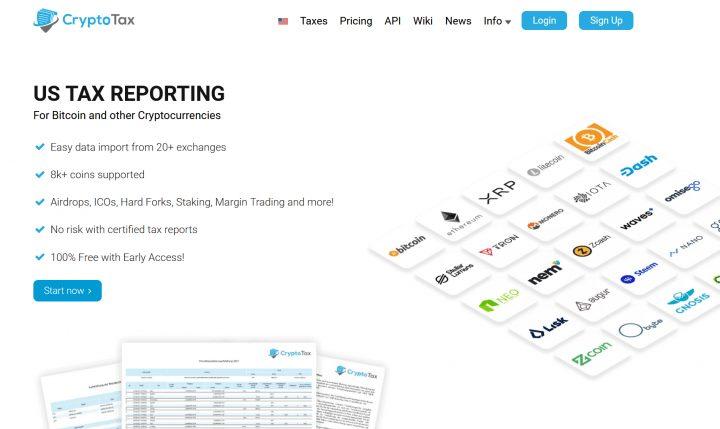 CryptoTax.io top 8 nền tảng quản lý thuế tiền điện tử