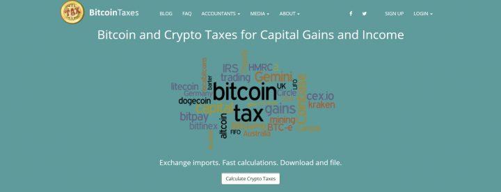 Bitcoin.tax 8 nền tảng quản lý thuế tiền điện tử