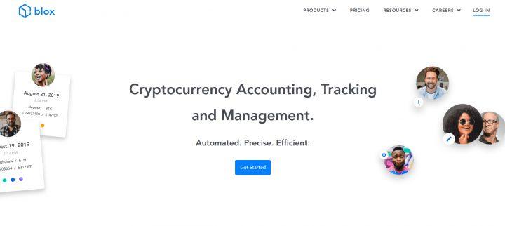 Blox.io top 8 nền tảng quản lý thuế tiền điện tử