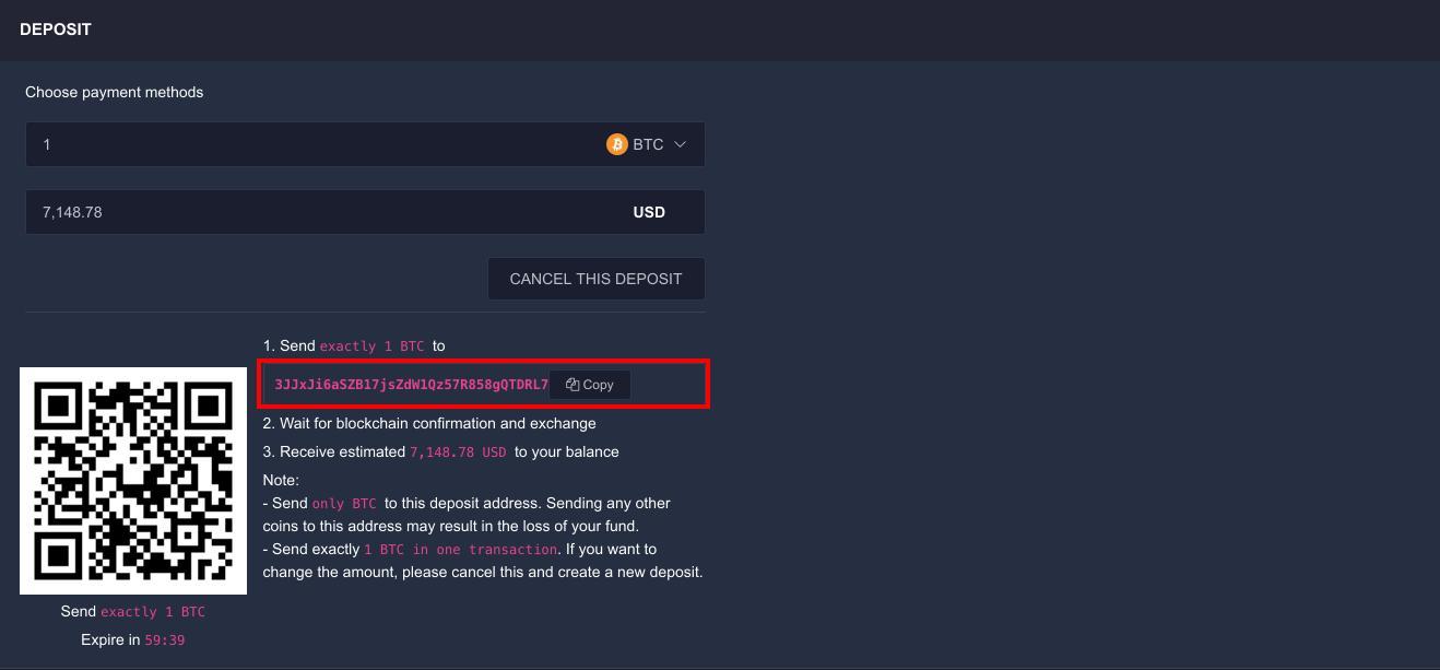 Hướng dẫn thanh khoản trên sàn giao dịch Block Option