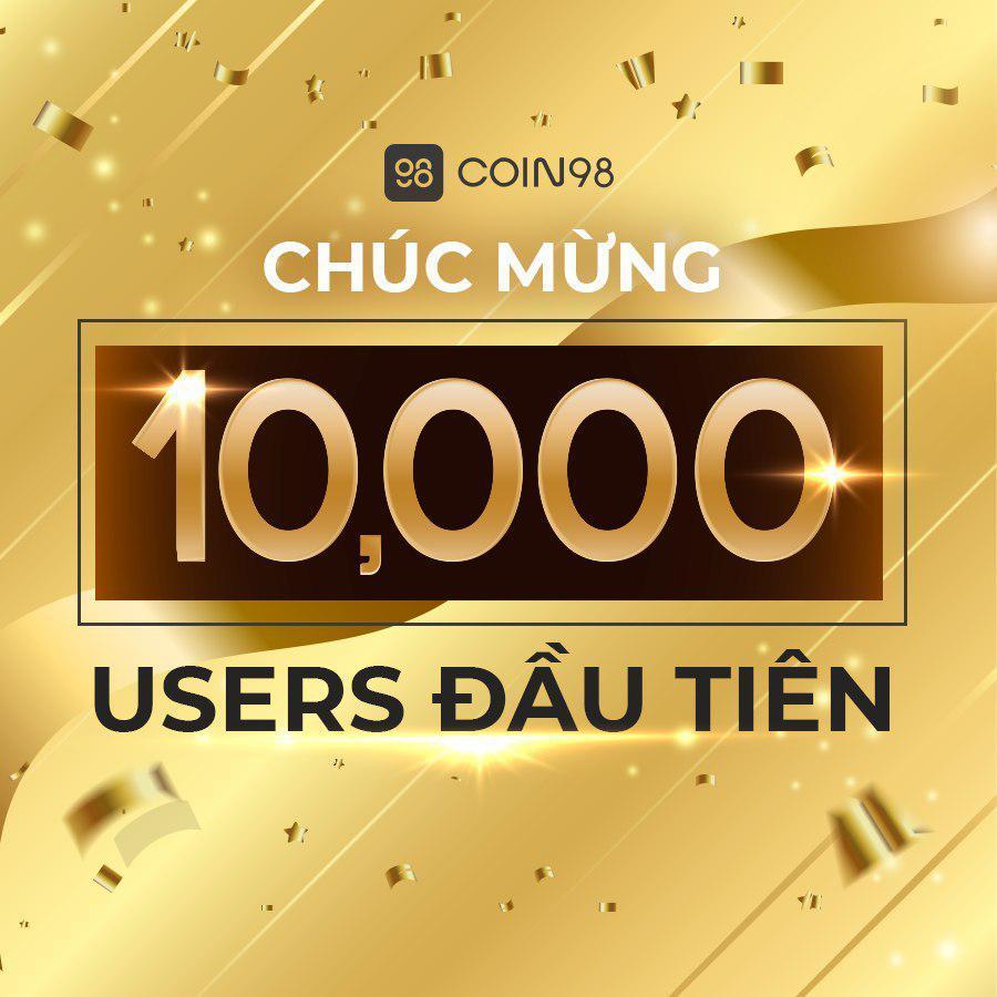 10.000 lượt đăng ký tài khoản đầu tiên. Trade24h