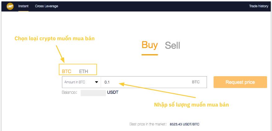 Cách giao dịch trên LetMeTrade.Trade24h