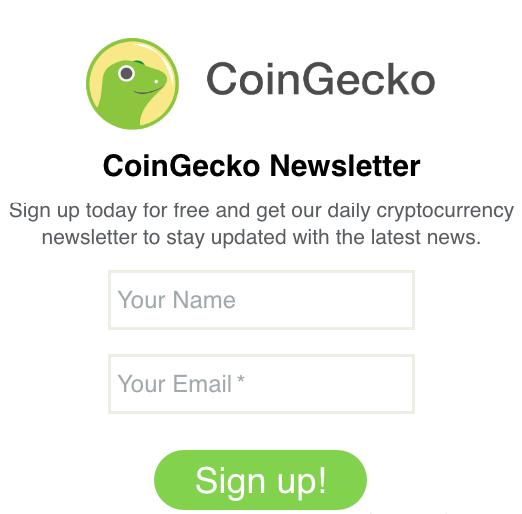 Coingecko Newsletter