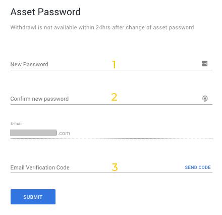 Nhập mật khẩu BHEX