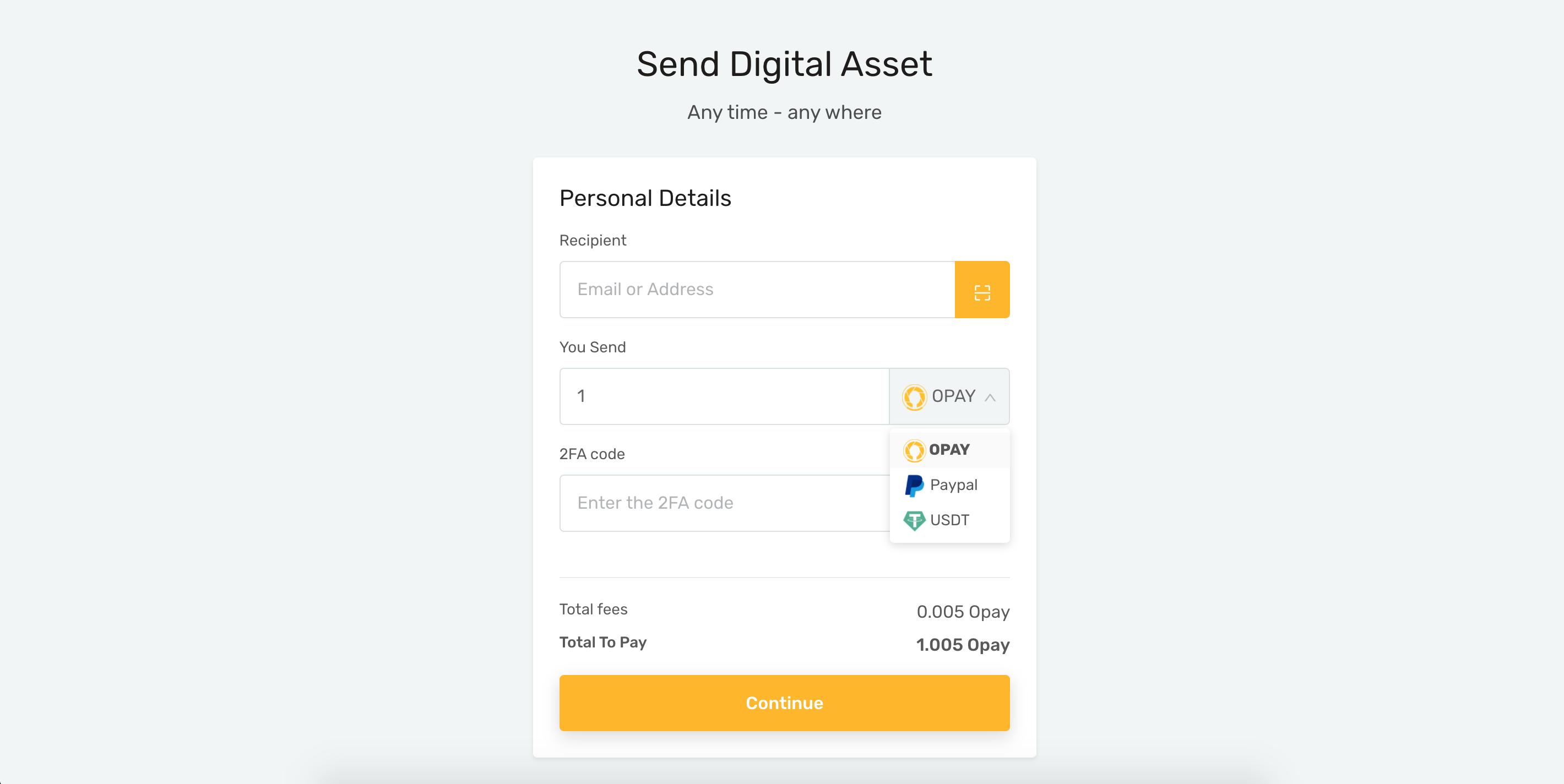 ứng dụng thanh toán opay