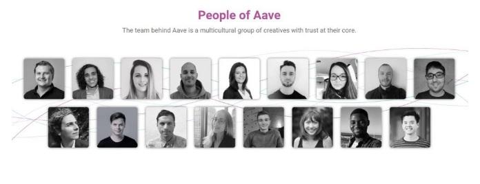 Đội ngũ phát triển của Aave