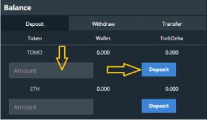Nhập lượng token
