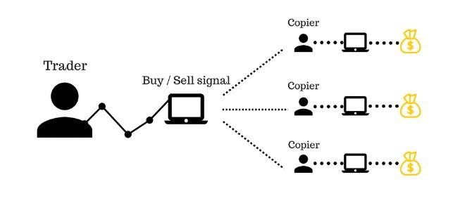Phương thức Copy Trade hoạt động