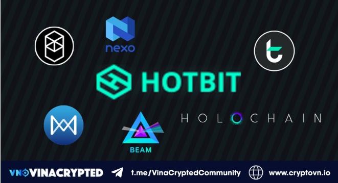 Một số dự án lớn được niêm yết trên Hotbit